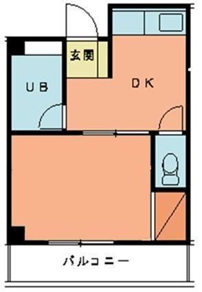 第2城西ビル 108号室 間取り