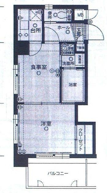 エステート・モア博多グラン 718号室 間取り