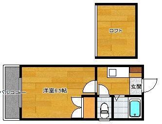 フリーデンTJ 305号室 間取り